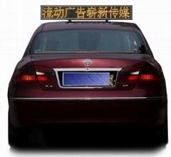 的士車LED車頂電子走字屏