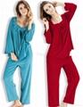 Autumn sleep suit female long-sleeve