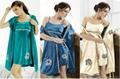 women 2piece twinset sleepwear plus size