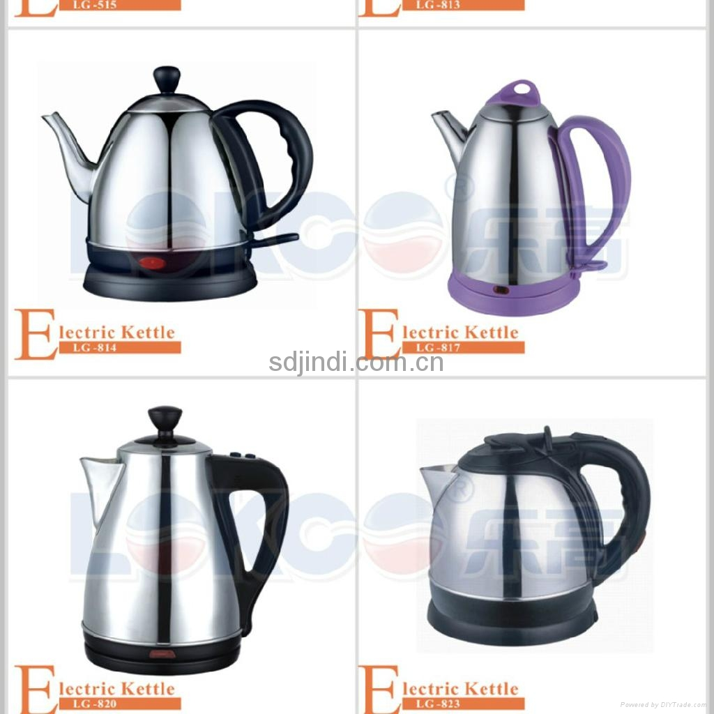 0.8L Mini Stainless Electric Water Kettle  4