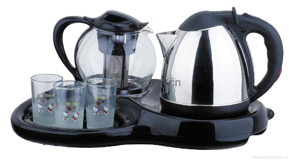 1.2L Durable Stainless Steel Tea  Kettle Set 1