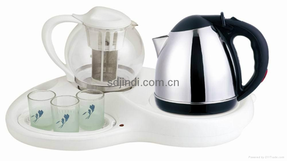 1.2L Durable Stainless Steel Tea  Kettle Set 2