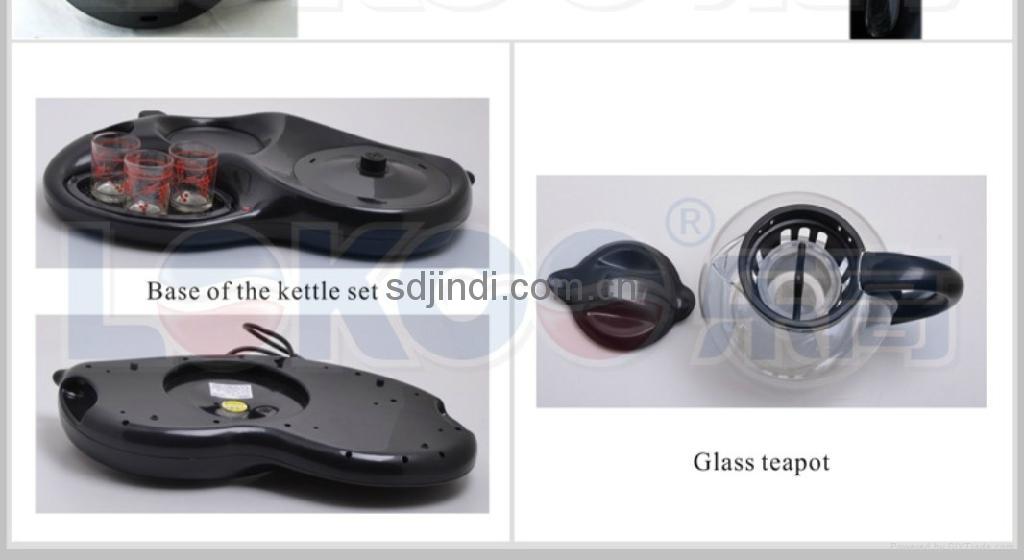 1.2L Durable Stainless Steel Tea  Kettle Set 5