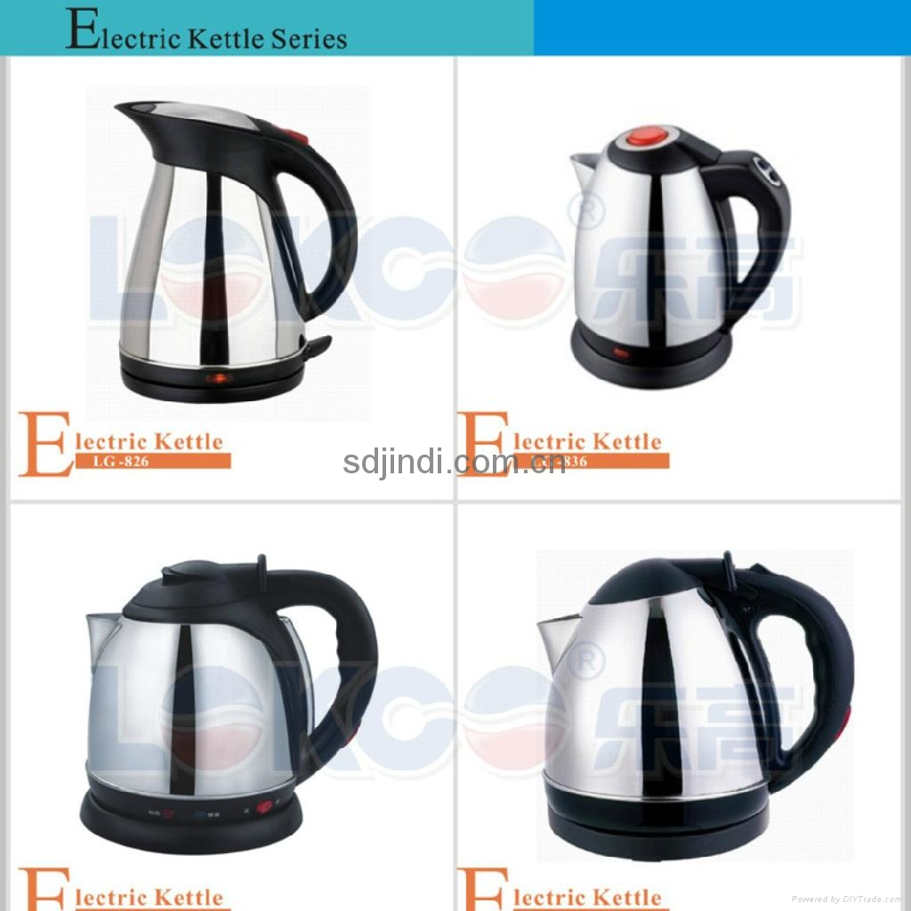 1.8L High Quality Stainless Steel Kttle 3