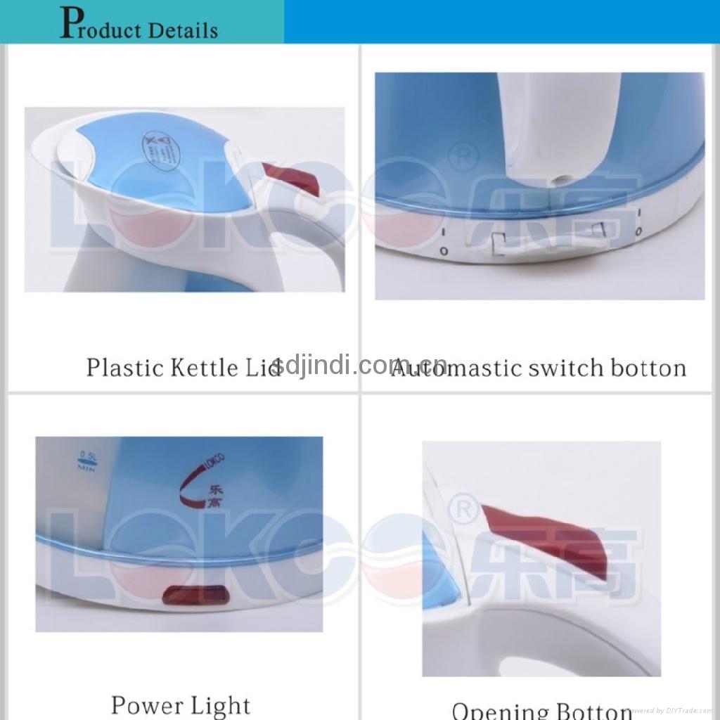 Elegant Plastic Kettle 4