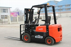1.5T diesel forklift with stable engine