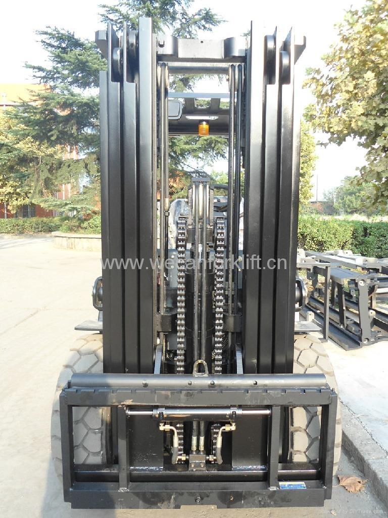Forklift Mast Interlocking : T forklift with stage m mast cpcd fr wecan