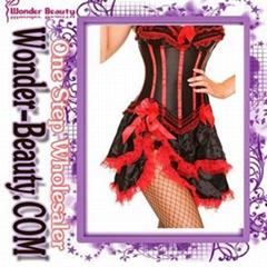 2012 Fashion corset including dress