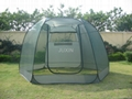Pop Up steel wire screen house