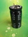 electrolytic capacitor 390uF 350V