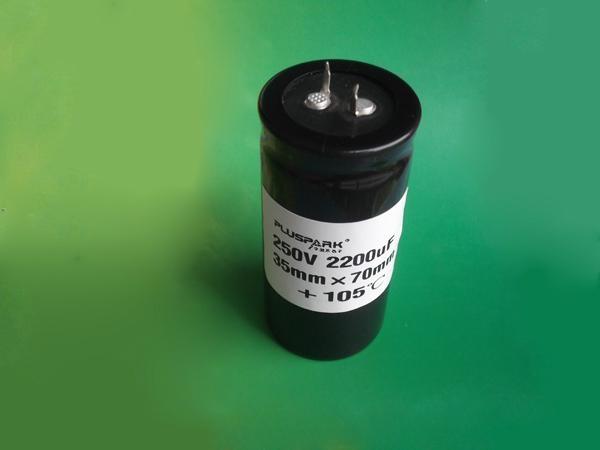 Electrolytic capacitor 2700uF 160V aluminum  1
