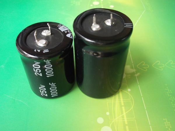 120uF 250V capacitor ,Snap-in , Aluminum Electrolytic capacitor 1