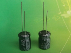 Low ESR capacitor 1000uF 100V ,Radial Aluminum electrolytic capacitor