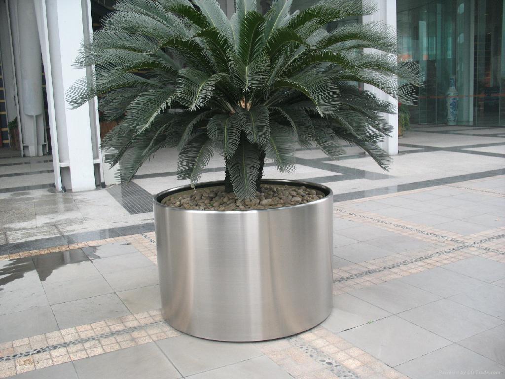 不鏽鋼花桶不鏽鋼花盆不鏽鋼花箱德南不鏽鋼有限公司 1
