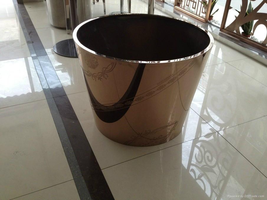 不鏽鋼花桶不鏽鋼花盆不鏽鋼花箱德南不鏽鋼有限公司 2