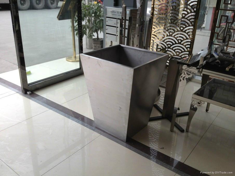 不鏽鋼花桶不鏽鋼花盆不鏽鋼花箱德南不鏽鋼有限公司 4