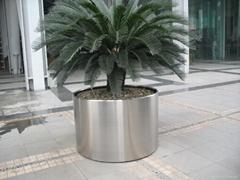 不锈钢花桶不锈钢花盆不锈钢花箱