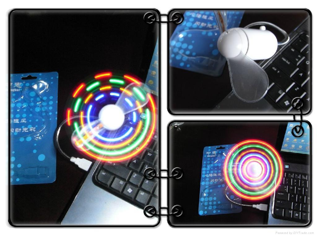 USB LED Message fan 2