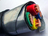 PVC insulated and sheathed armored Power Cable 0.6/1KV with steel tape armore 1