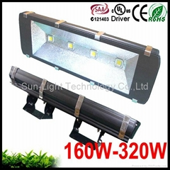 160w waterproof rgb led outdoor tunnel light 12v