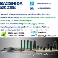 China API standards oilfield equipment sucker rods,polished rods,sinker bars