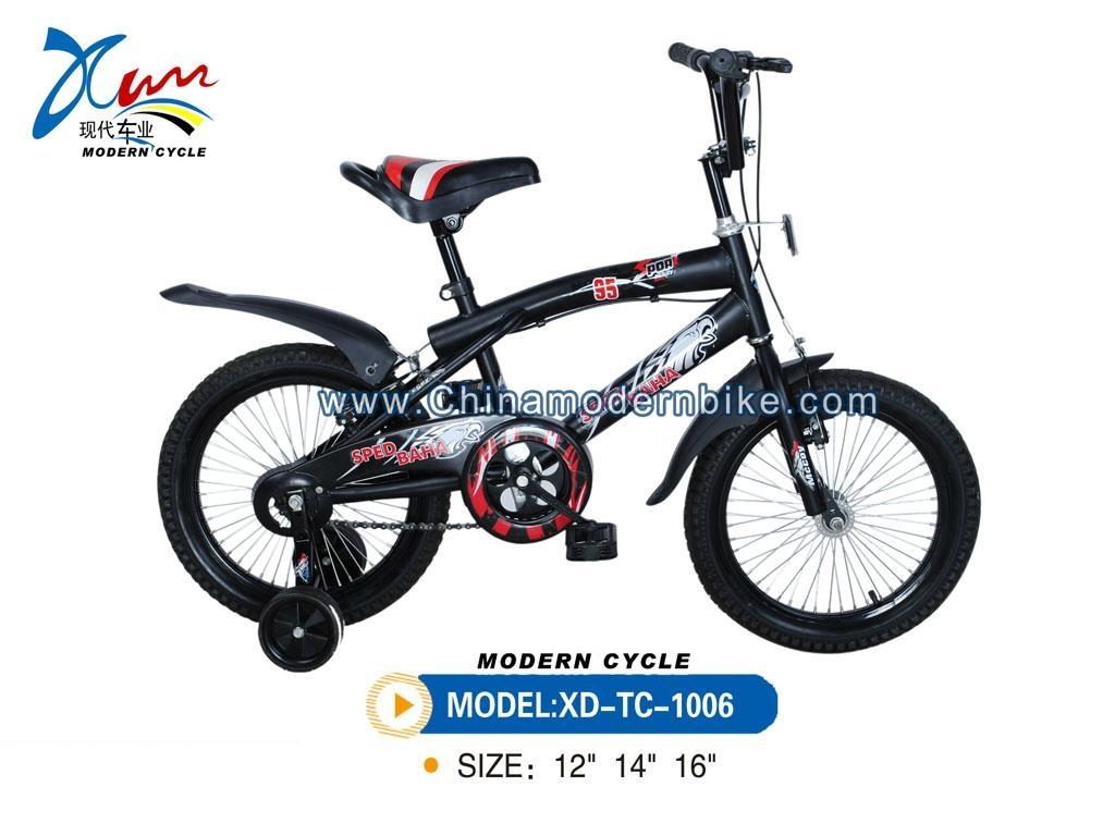 BMX bike with warning lamp 4