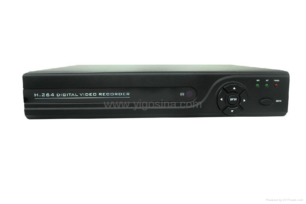 Dvr Security System >> DVR H.264/4CH DVR / CIF Full Ch / CCTV Standalone DVR - YG-E204 - YIGO (China Manufacturer ...