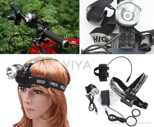 XM-T6 LED bike headlight 2
