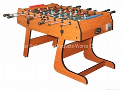 foldable soccer table