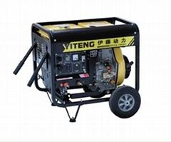 柴油发电机带电焊机