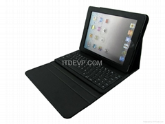 iPad2/3 Magnet bluetooth keyboard case