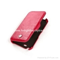 Leather PU Case for Samsung Galaxy S4