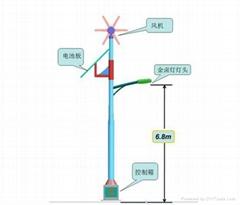 吉林風光互補太陽能路燈