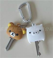 供應pvc卡通鑰匙套
