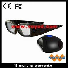 3D shutter glasses kits for ATI 3D PC(glasses+IR emiter)