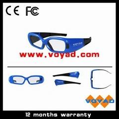 Bluetooth 3d shutter glasses