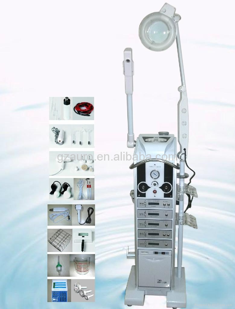 17 in 1 multifunction ultrasonic facial massager beauty for Beauty equipment