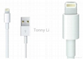 Factory supply 8pin Lightning to USB Cable for iPhone5 USB 2.0 Adapter Cable for