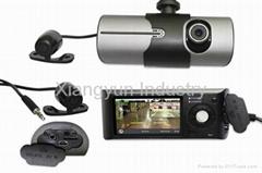 HD 720P mini dvr cameracar black box with GPS tracker G-sensor AV-IN