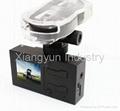 HD 720P dual lens Mini dvr camera car