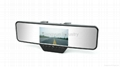 HD 720P rearview mirror dvr canera car black box with Bluetooth/GPS 2