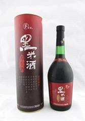朱鶴精品黑米養生酒