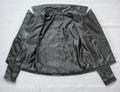 斜拉链女式皮衣 4