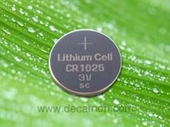 CR1025 Lithium Button Cell