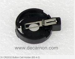 3V CR2032 Button Cell Holder (BS-4-2)