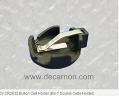 CR2032 Button Cell Holder (BS-7 Double Cells Holder)