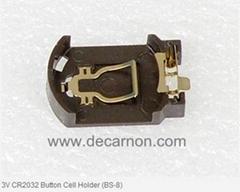 3V CR2032 Button Cell Holder (BS-8)