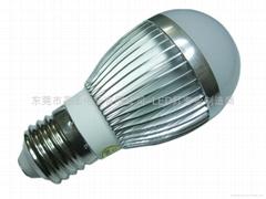 led 球泡燈 3W  QP-0301