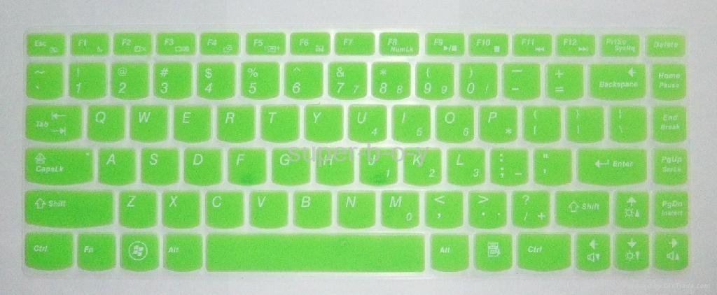 联想Z480系列笔记本彩色键盘膜 3