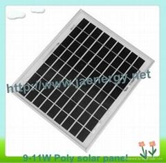11W多晶太阳能板